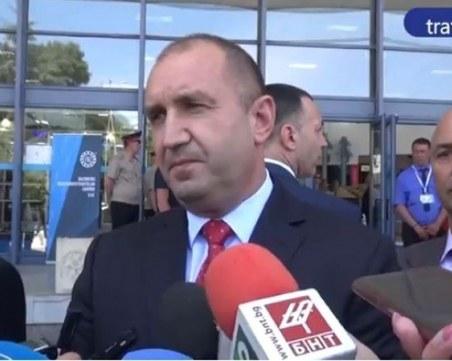 Румен Радев: Решенията на Конституционния съд не се коментират, те се изпълняват