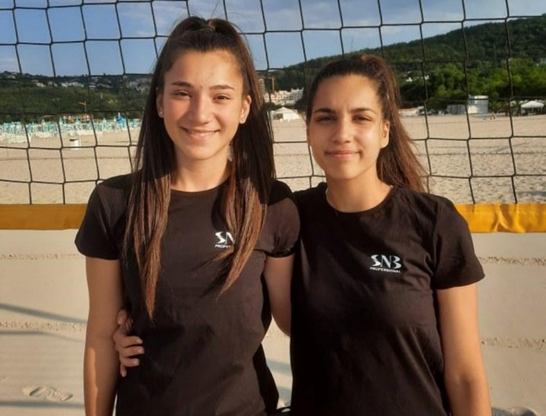 Двойките на Марица по плажен волейбол пети във Варна