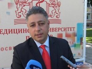 Евгени Евгениев в МУ-Пловдив: България ще получи повече средства за наука и иновации