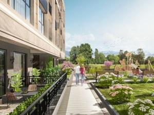 Премиум сграда на Гребния канал е сред най- атрактивните възможности за хора с висок стандарт на живот