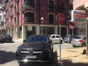 Шофьорка превзе цяло кръстовище в Пловдив