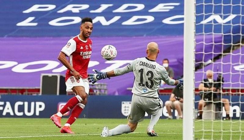 Арсенал грабна Купата на Англия и си осигури място в Лига Европа