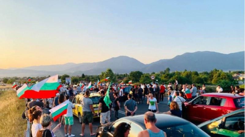 Няма да бъдат допускани протестиращи на АМ Тракия край Стара Загора