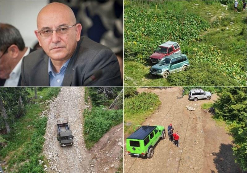 Екоминистърът: Спрете достъпа на джиповете до Рилските езера