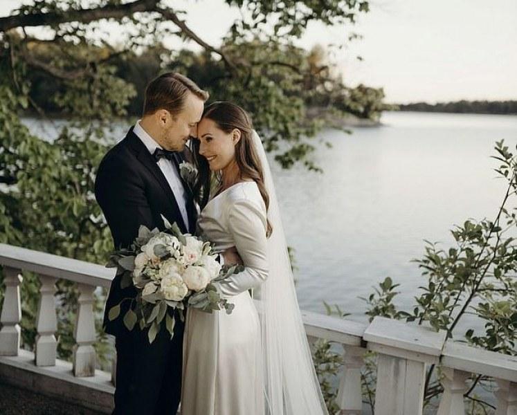 Финландският премиер Сана Марин се омъжи