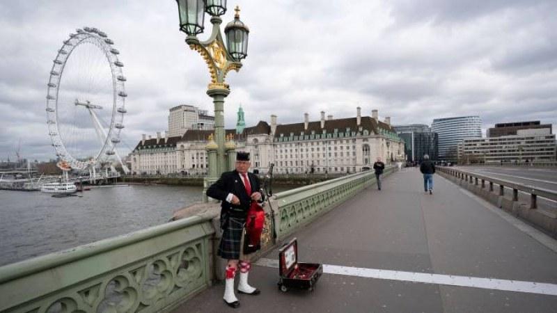 Лондон може пак да бъде блокиран, Великобритания с опити да спре втора вълна