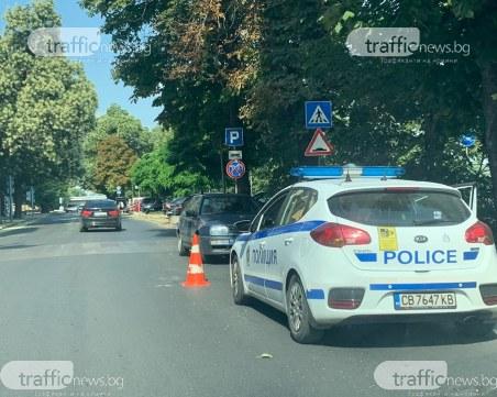 Кола помете жена на пешеходна пътека в Пловдив, откараха я в болница