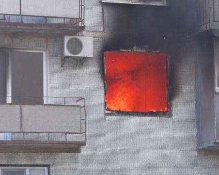 Жена загина при пожар във Велико Търново