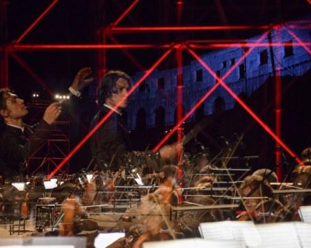 Бах и Моцарт на 4 рояла в Античния театър