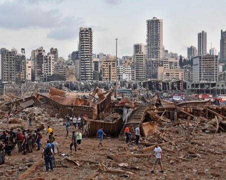 Десетки жертви в Бейрут - болниците са препълнени след мощната експлозия