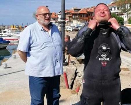 Подводният археолог Веселин Драганов загуби битката с Covid-19
