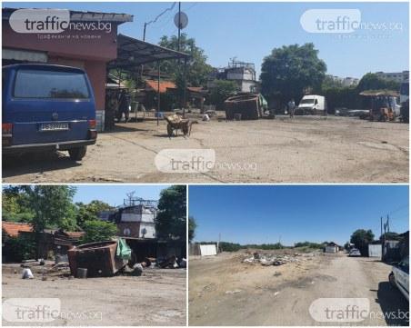 Полиция нахлу в нелегален пункт за вторични суровини в Столипиново