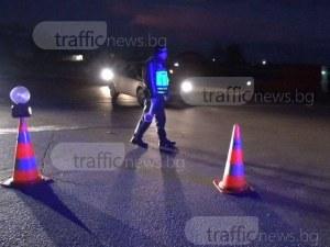 Екшън на пловдивско кръстовище: Шофьор псува и ругае, чупи стъкло на камион