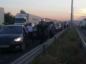 """МВР: Предприемаме мерки срещу утежняването на трафика след затварянето на АМ """"Марица"""""""
