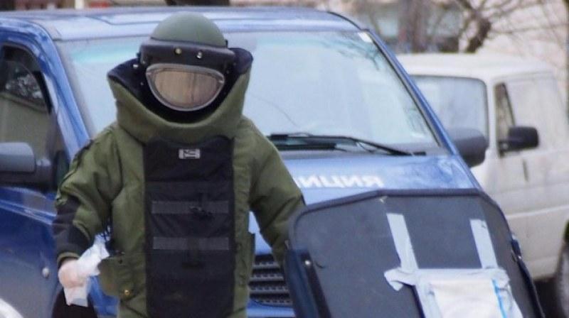 Забравен куфар вдигна на крак полицията в София