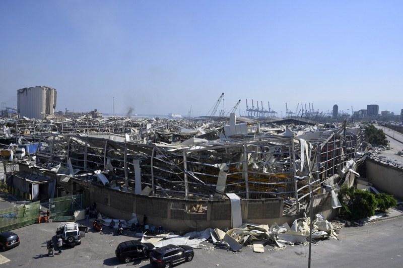 300 000 души останаха без дом в ливанската столица Бейрут