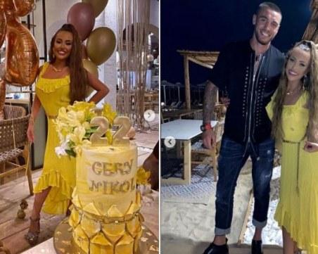 Гери-Никол блесна в рокля за 7 стотака на партито за рождения си ден