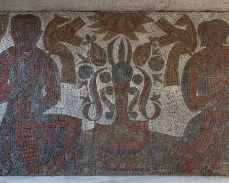 Възстановиха мозайките на Йоан Левиев в подлеза на Баня старинна