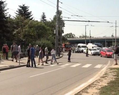 Протестиращи блокираха 4-тия километър на София