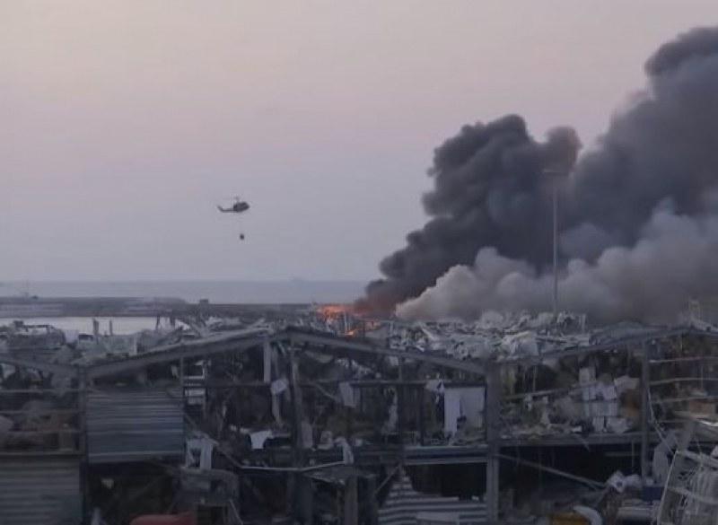 Посланикът на България в Бейрут след взрива: Смята се, че са гръмнали цистерни с амониев нитрат