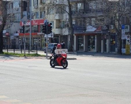 Акция на Пътна полиция! Мотористите и неадекватните шофьори - на прицел