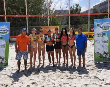 Двойка на Марица стана вицешампион по плажен волейбол