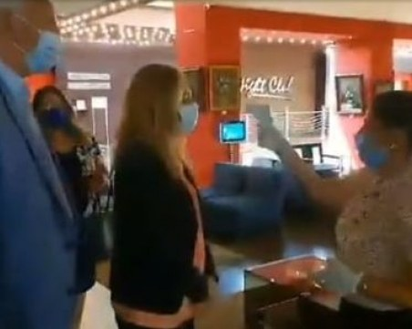 Николова и Зико на изненадваща проверка в пловдивски хотел
