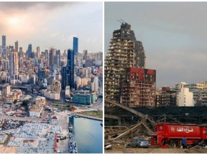 Бейрут след чудовищната експлозия ГАЛЕРИЯ и ВИДЕО