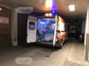 Тойота удари мотоциклет на голям пловдивски булевард, двама младежи пострадаха