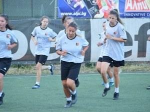 Женският Локомотив се раздели с 10 футболистки, започна подготовка