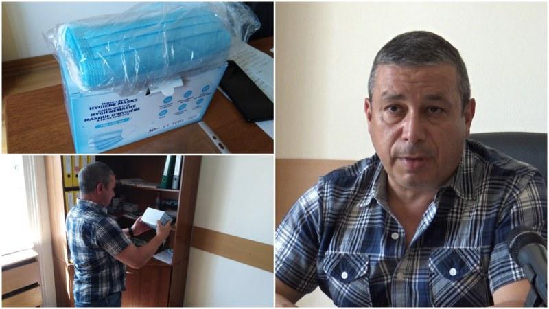 30 000 предпазни маски за COVID-19 се съхраняват в резерва на Община Пловдив