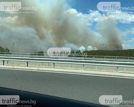 20 нови пожара в Хасковска област, ситуацията остава тежка