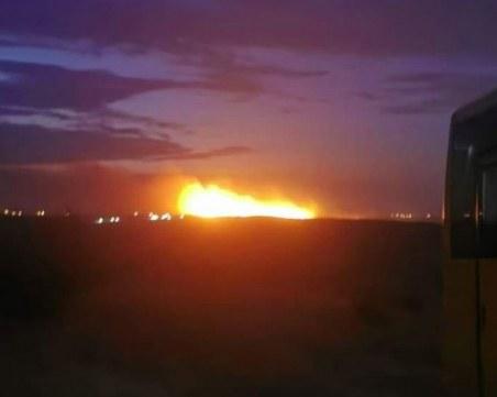 Евакуираха цяло село в Хасковско заради големия пожар