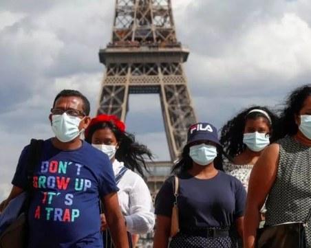 Маските на открито стават задължителни в части от Париж, в Лил и Ница вече са