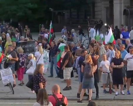 Демонстранти в София: Ако ни махнете палатките, утре ще има барикади