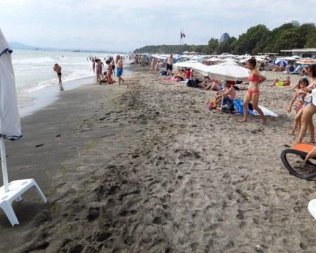 Изненадваща проверка на плаж по Черноморието
