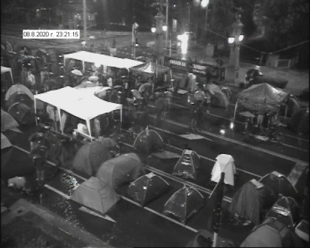 МВР публикува кадри от снощния протест и блокада в София
