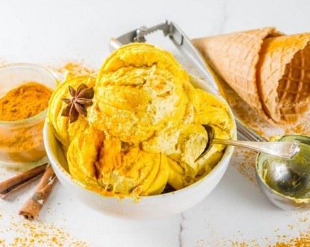 Златен сладолед за стоманен имунитет: Десерт, който ще заобичате