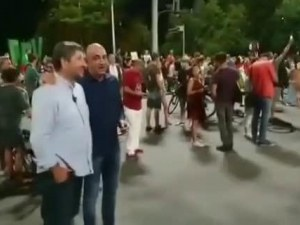 Христо Иванов след скандалния клип с разговора за Маджо: Говоря с много хора на протестите по различни теми