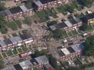 Мощна газова експлозия срути няколко къщи, има жертви