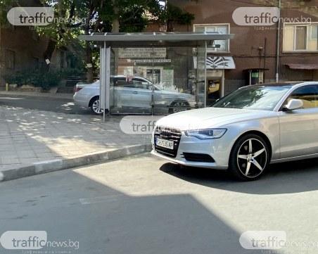 Шофьор превзе спирка край Пловдив, нагруби съгражданин