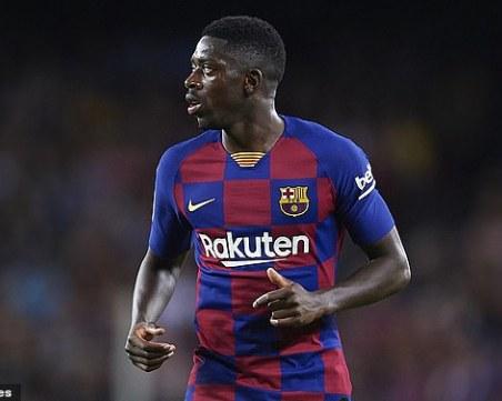 Юнайтед иска нападател от Барселона