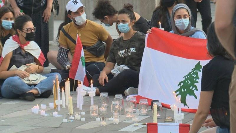 Езан и църковни камбани в памет на жертвите на взрива в Бейрут