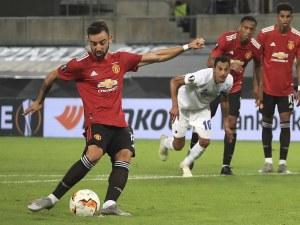 Юнайтед се промъкна до полуфинал след продължения, две греди и два отменени гола