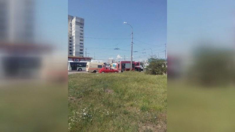 Токов удар парализира работник в София