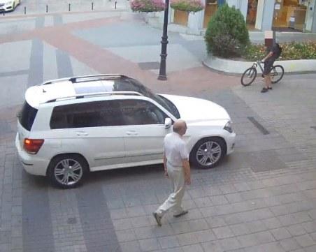 Шофьор с чужда регистрация нагази на Главната, търсят го, за да го глобят