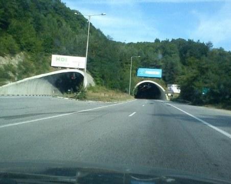 """Затварят единия тунел на """"Троянови врата"""", шофьорите да внимават при преминаването"""