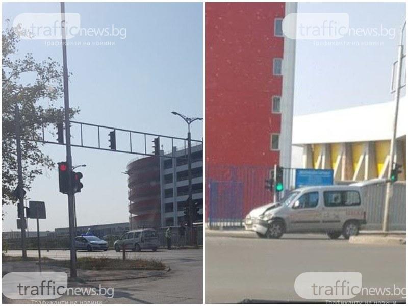 Пак катастрофа на кръстовище в Пловдив, рекордьор по инциденти