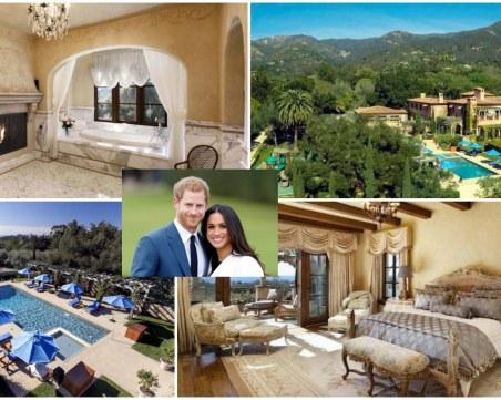 Дом за 14,5 милиона долара: Вижте лукса, в който Меган и Хари ще живеят