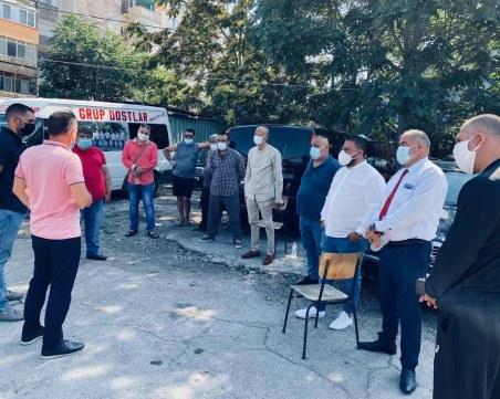 """Затягат мерките в Столипиново срещу COVID-19, от """"Източен"""" организираха среща с общностите"""